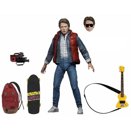 Back to the Future Ultimate Marty McFly 7-Inch Scale Figure