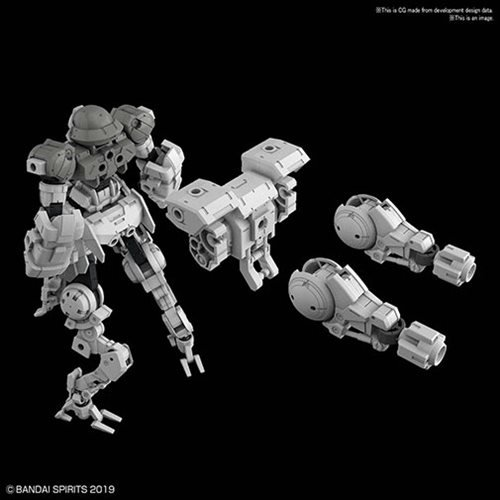 30 Minute Missions #18 Bexm-15 Portanova Space Type Gray Model Kit