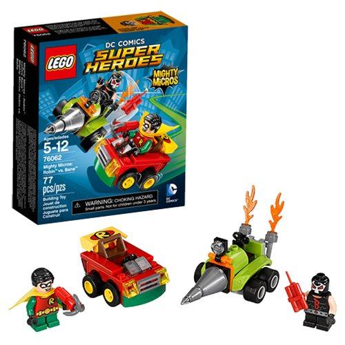 LEGO Batman 76062 Robin vs. Bane Mighty Micros