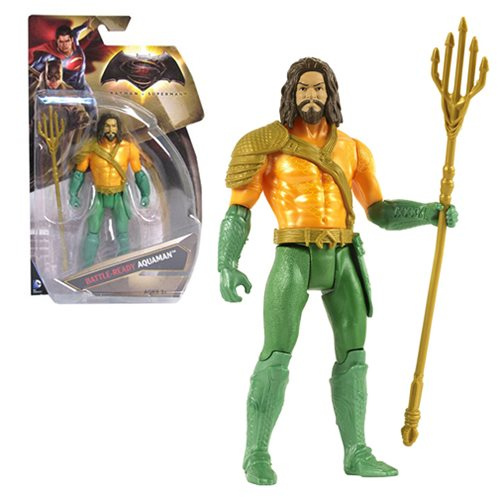 Batman v Superman: Dawn of Justice Classic Inspired Aquaman Basic Action Figure