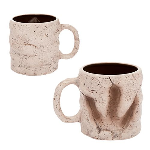 Dinosaur Footprint 20 oz Sculpted Ceramic Mug