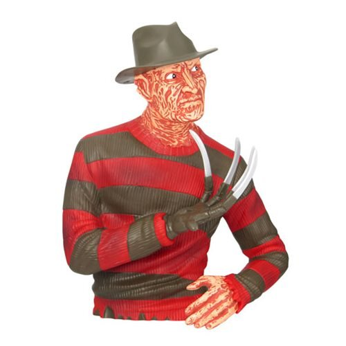 Nightmare on Elm Street Freddy Krueger Bust Bank