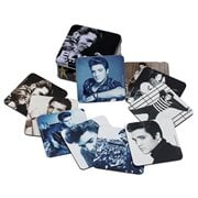 Elvis Presley Coaster Set with Collector Tin 10-Pack