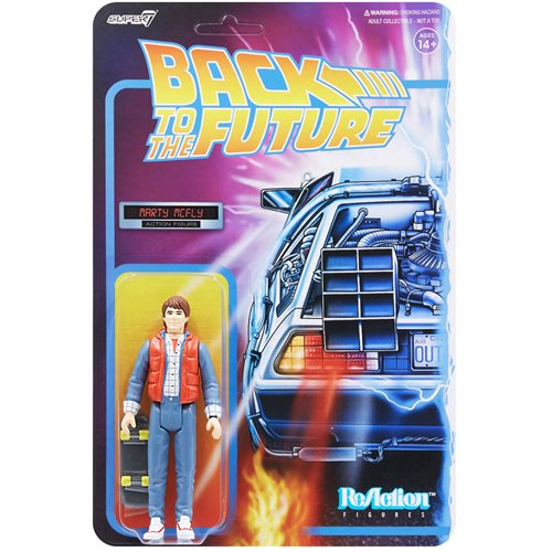 Back to the Future Marty McFly 1980s 3 3/4-Inch ReAction Figure