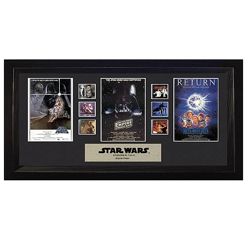 Star Wars Mixed Trilogy Special Edition Film Cell