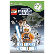 LEGO Star Wars Empire Strikes Back DK Readers 2 Hardcover Book