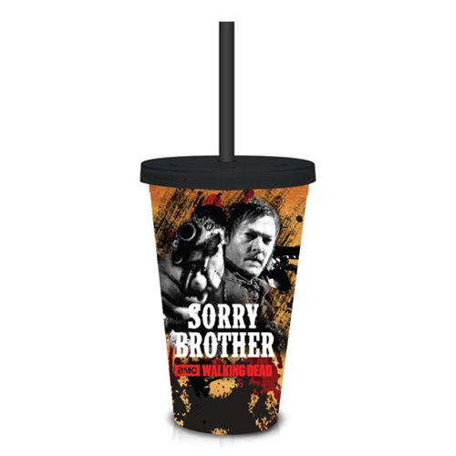 The Walking Dead Sorry Brother 18 oz. Travel Cup