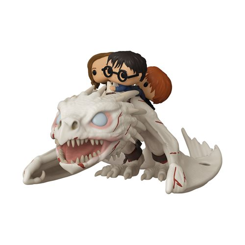 Harry Potter Ukrainian Ironbelly with Harry, Ron, and Hermione Pop! Vinyl Ride