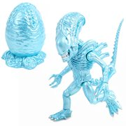 Aliens Ice Blue Metallic Alien Action Vinyl Figure