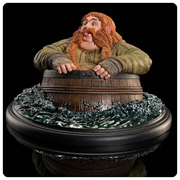 The Hobbit The Desolation of Smaug Bombur the Dwarf Barrel Rider Statue