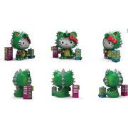 Sanrio Hello Kitty Kaiju Cosplay Metallic Green 8-Inch Vinyl Figure