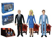 Shark Tank Kevin O'Leary, Lori Greiner, Robert Herjavec 3 3/4-Inch Action Figure Set of 3 - Convention Exclusive