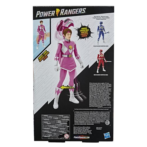 Mighty Morphin Power Rangers Pink Ranger Unmasked 12-inch Action Figure