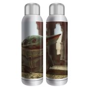Mandalorian The Child End Credits Art 22 oz. Stainless Steel Water Bottle