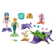 Playmobil 70099 Magical Mermaids Pearl Collectors with Manta Ray