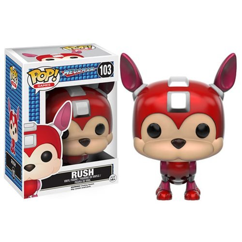 Mega Man Rush Pop! Vinyl Figure