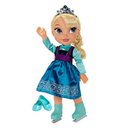 Disney Frozen Elsa Ice Skating Toddler Doll