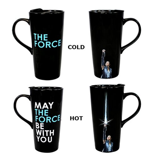 Star Wars: The Last Jedi Rey 20 oz. Ceramic Heat Reactive Travel Mug