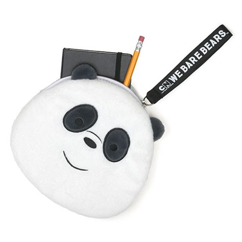 We Bare Bears Panda Deluxe Zipper Pouch