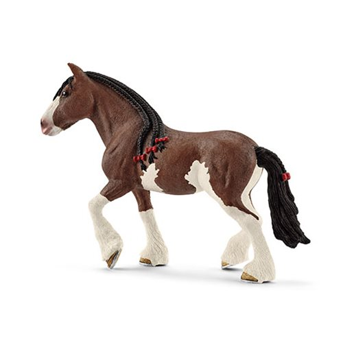 Farm World Clydesdale Mare Collectible Figure