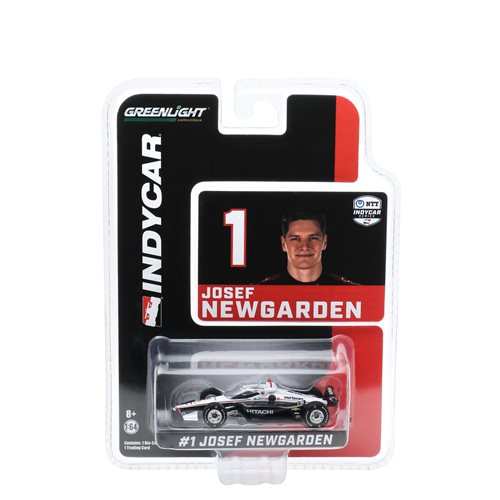 2020 NTT IndyCar Series  #1 Josef Newgarden Team Penske Hitachi 1:64 Scale Die-Cast Vehicle with Trading Card