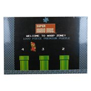 Super Mario 1-2 Welcome to Warp Level 1000-Piece Puzzle