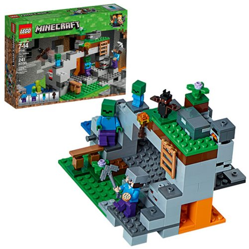 LEGO Minecraft Creative Adventures 21141 The Zombie Cave