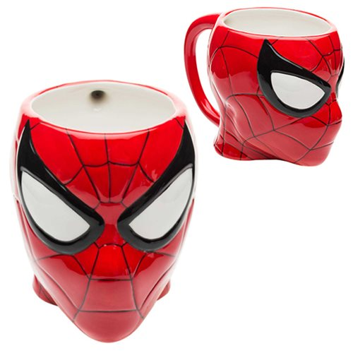 Spider-Man Ceramic Molded Mug