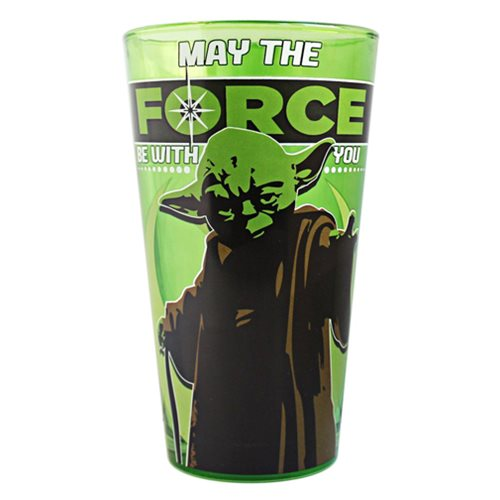 Star Wars Yoda 16 oz. Pint Glass