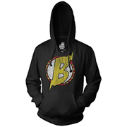 Big Bang Theory B Symbol Bazinga! Black Hoodie