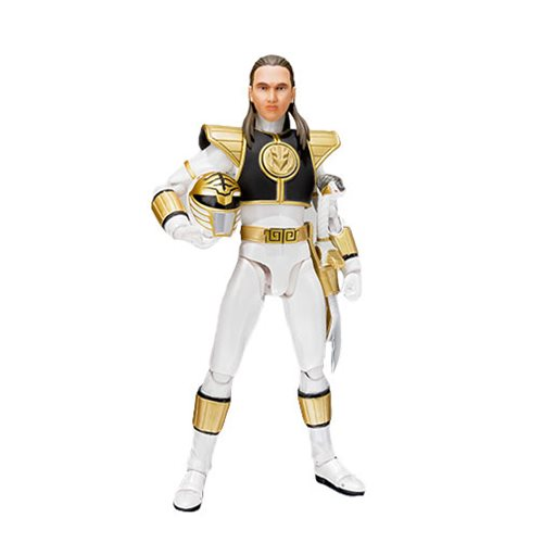 Mighty Morphin Power Rangers White Ranger SH Figuarts Action Figure