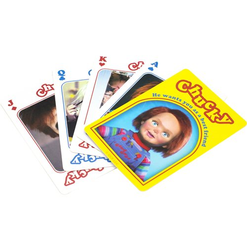 Child's Play Chucky Playing Cards