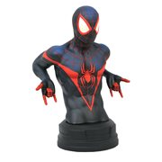 Marvel Comics Spider-Man Miles Morales Bust, Not Mint