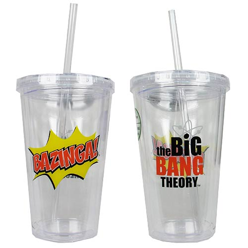 The Big Bang Theory Bazinga Travel Cup