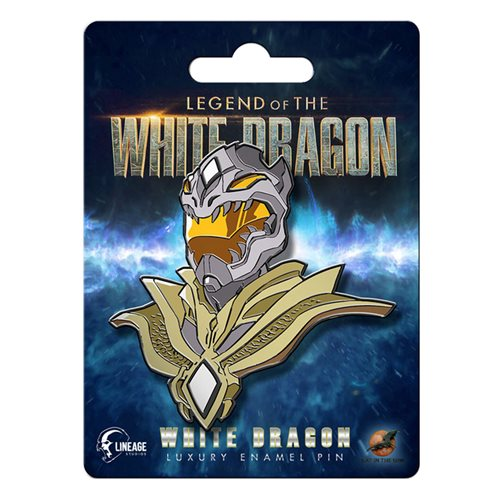 Legend of the White Dragon White Dragon Luxury Enamel Pin