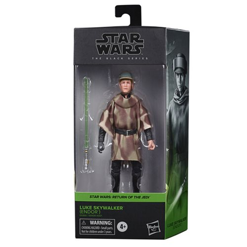 Star Wars The Black Series Luke Skywalker (Endor Battle Poncho) 6-Inch Action Figure