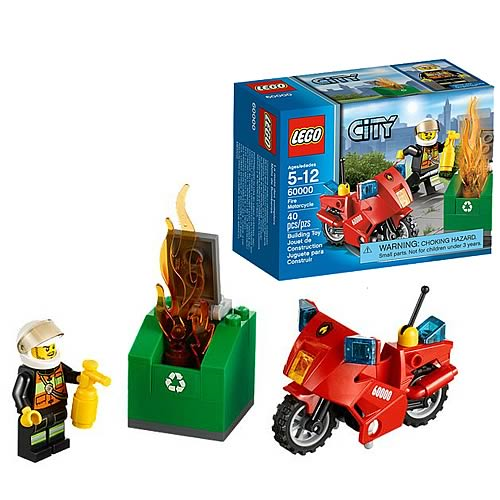 LEGO City 60000 Fire Motorcycle