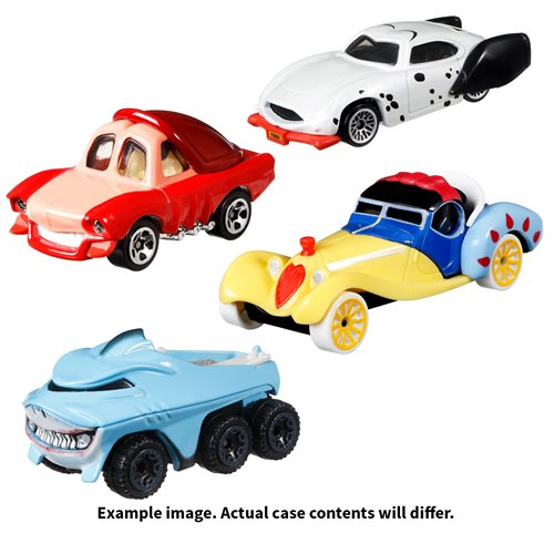 Hot Wheels Disney Character Car 2021 Mix 3 Case of 8