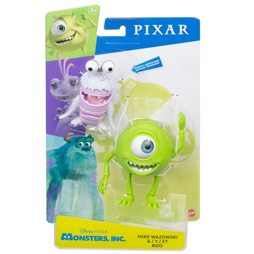 Monsters, Inc. Mike and Boo Action Figure 2-Pack