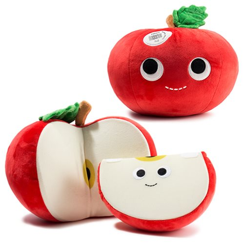 Yummy World Ally and Sally Apple Medium Plush