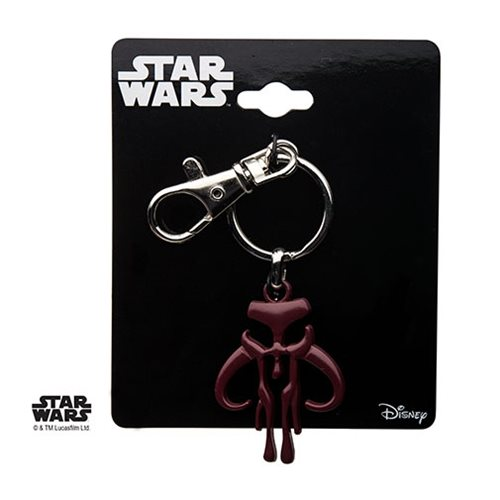 Star Wars Mandalorian Logo Key Chain