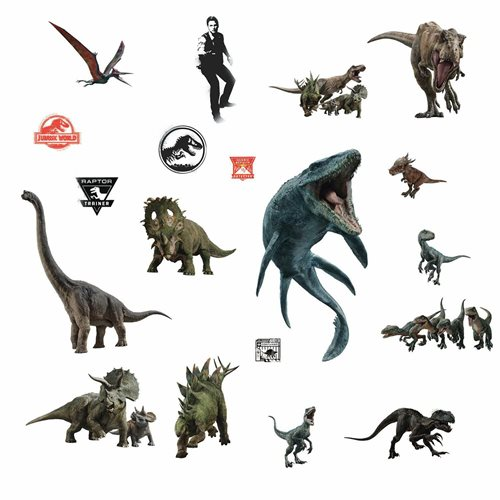 Jurassic World 2 Peel-and-Stick Wall Decals