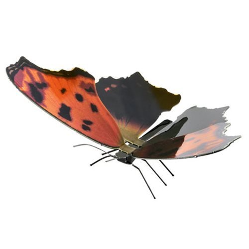 Eastern Comma Butterfly Metal Earth Model Kit