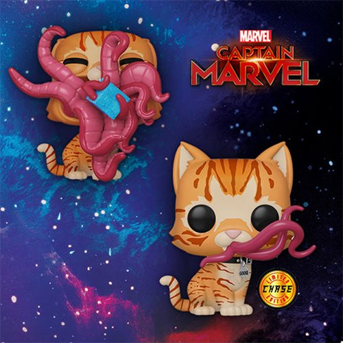 Captain Marvel Goose Pop! Vinyl Figure