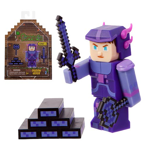 Terraria Shadow Armor Action Figure