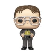 The Office Dwight with Jello Stapler Pop! Vinyl Figure