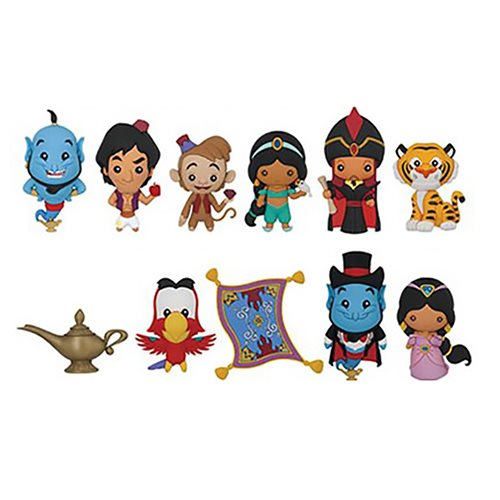 Aladdin Figural Key Chain Display Case