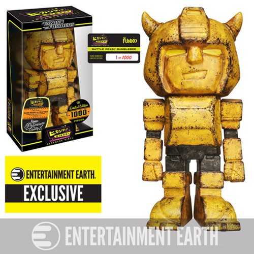 Transformers Battle Ready Bumblebee Hikari Premium Japanese Vinyl - Entertainment Earth Exclusive