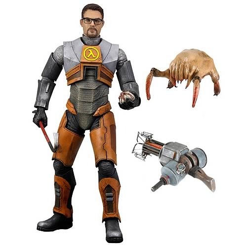 Gordon Freeman Action Figure, Half-Life Action Figure