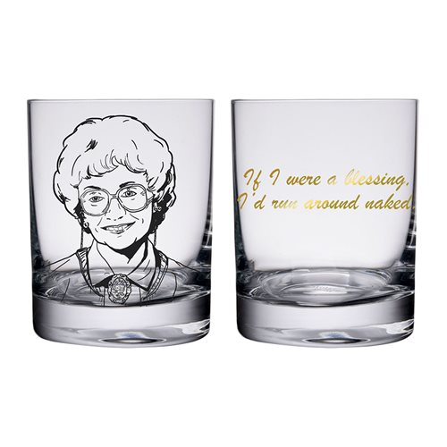 Golden Girls Quotes 10 oz. Glass 4-Pack